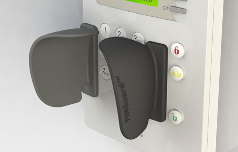T1 access control and key pad shields for access control pin pads