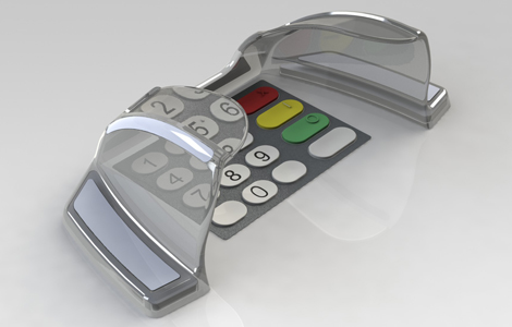 EVO 3 pin guard for NCR Persona and NCR SelfServ ATMs