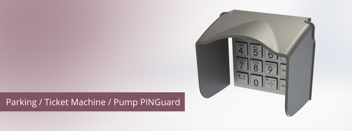 parking and ticket machine pinguard