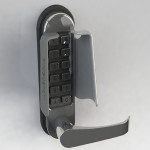 T4 access control and key pad guard for combination locks