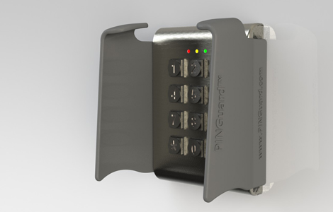 T4 access control and key pad shield