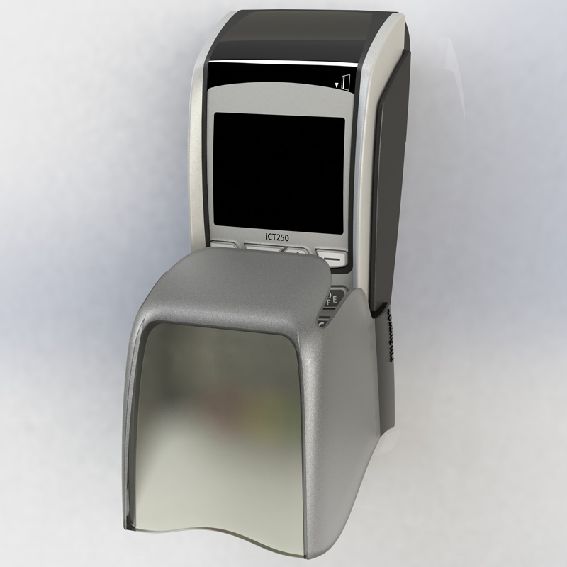 R1+ chip and pin shield for Dione POS terminals