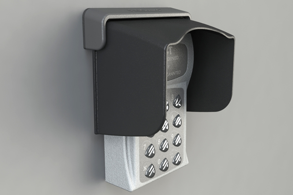 XT-3 Weather Shield for Access Control & Key Pin Pads