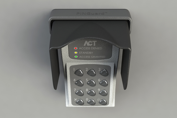 XT-3 Weather Shield for Access Control & Key Pads