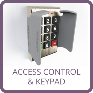 access control and keypad pinguard