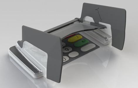 EVO 1I Standard pin shield for NCR Persona ATMs