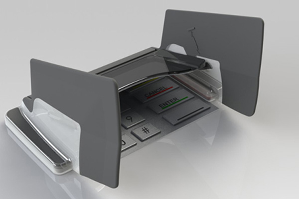 EVO 1i Keba pin shield for Keba ATMs