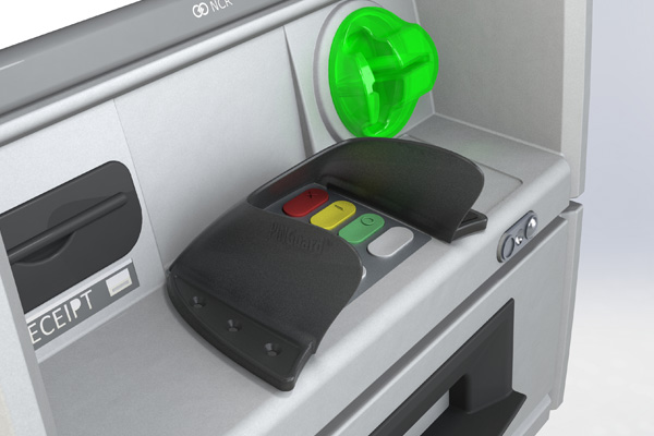 Hybrid Narrow ATM PINGuard for NCR Persona and Selfserv ATMs