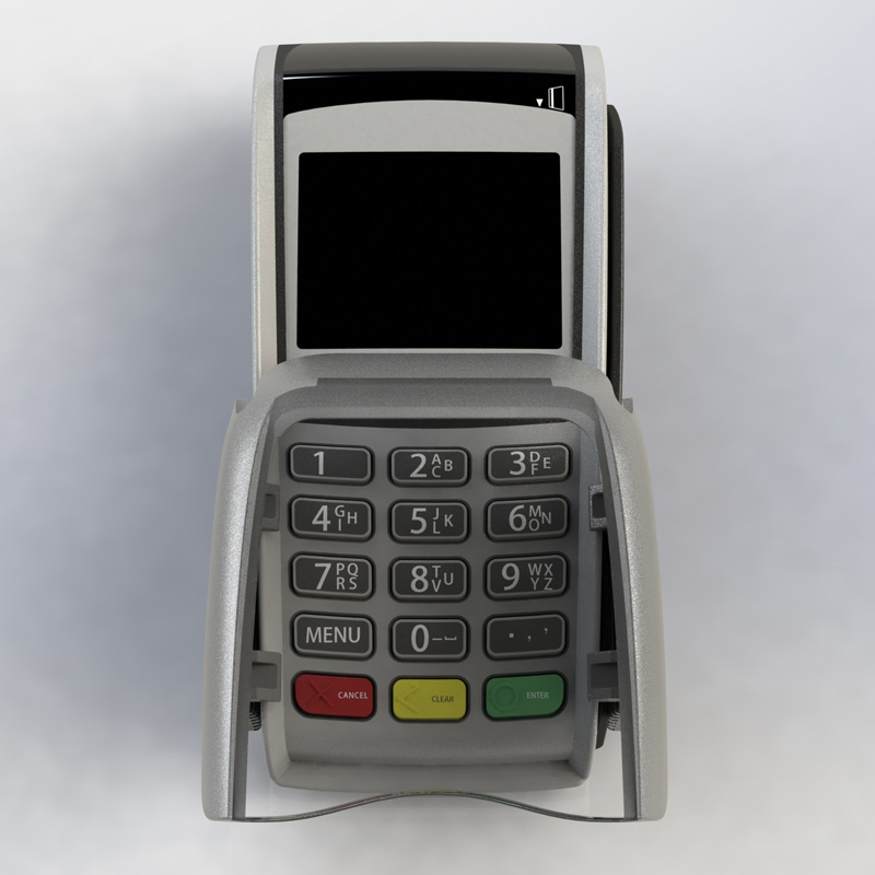 R1+ chip and pin shield for Thyron POS terminals