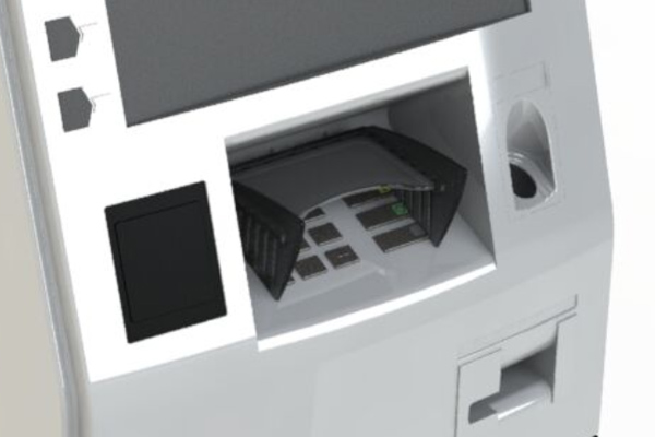 T9+ pin shield for Diebold 5700, 5750 and 5500 ATMs