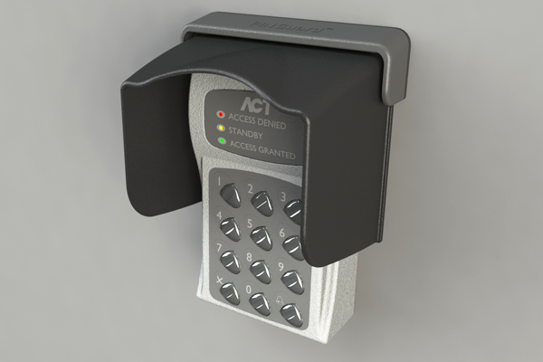 XT-3 Access Control & Key Pad Weather Shields