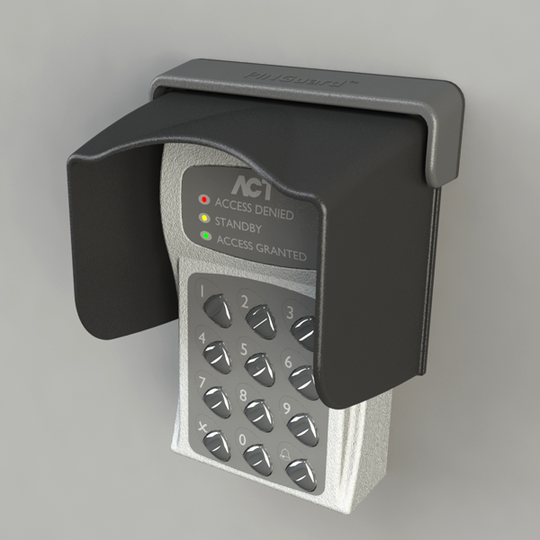 XT-3 Access Control & Key Pad Weather Shield